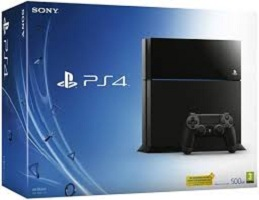 Playstation 4 500gb console -video game/console