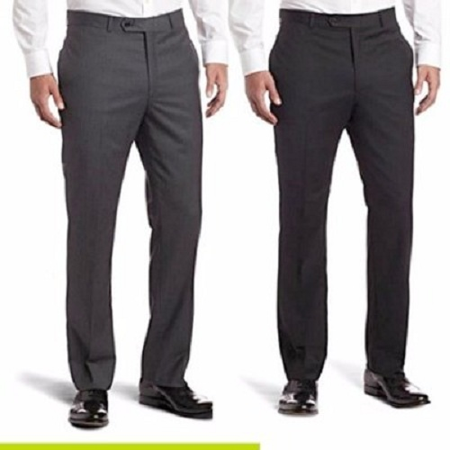 2n1 men suit trousers- black, grey smart trousers