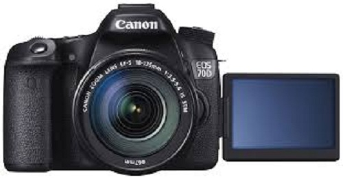 Canon eos 70d dslr camera-digital video camera
